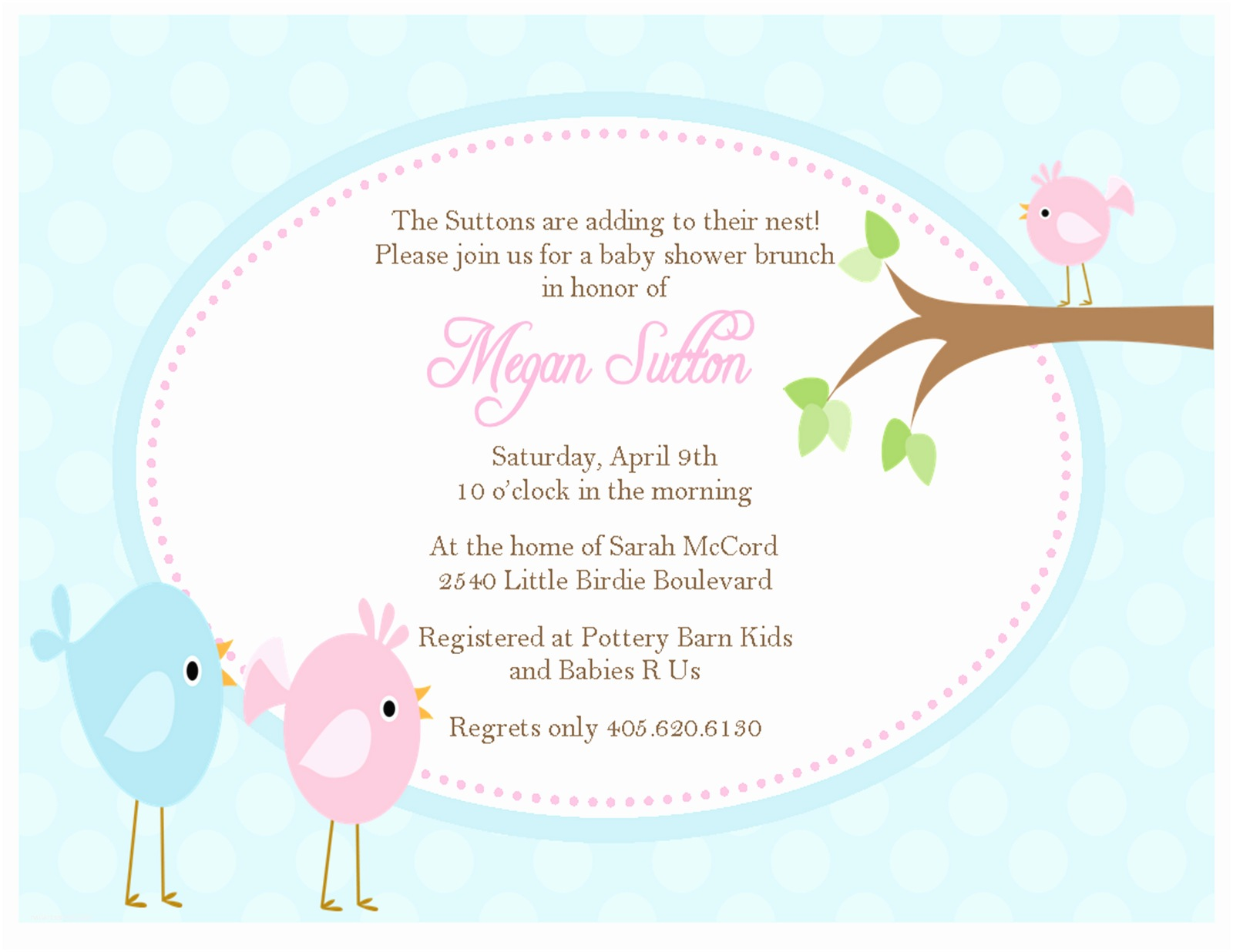 Invitations for Baby Shower Sweet Peach Paperie Archive Baby Showers