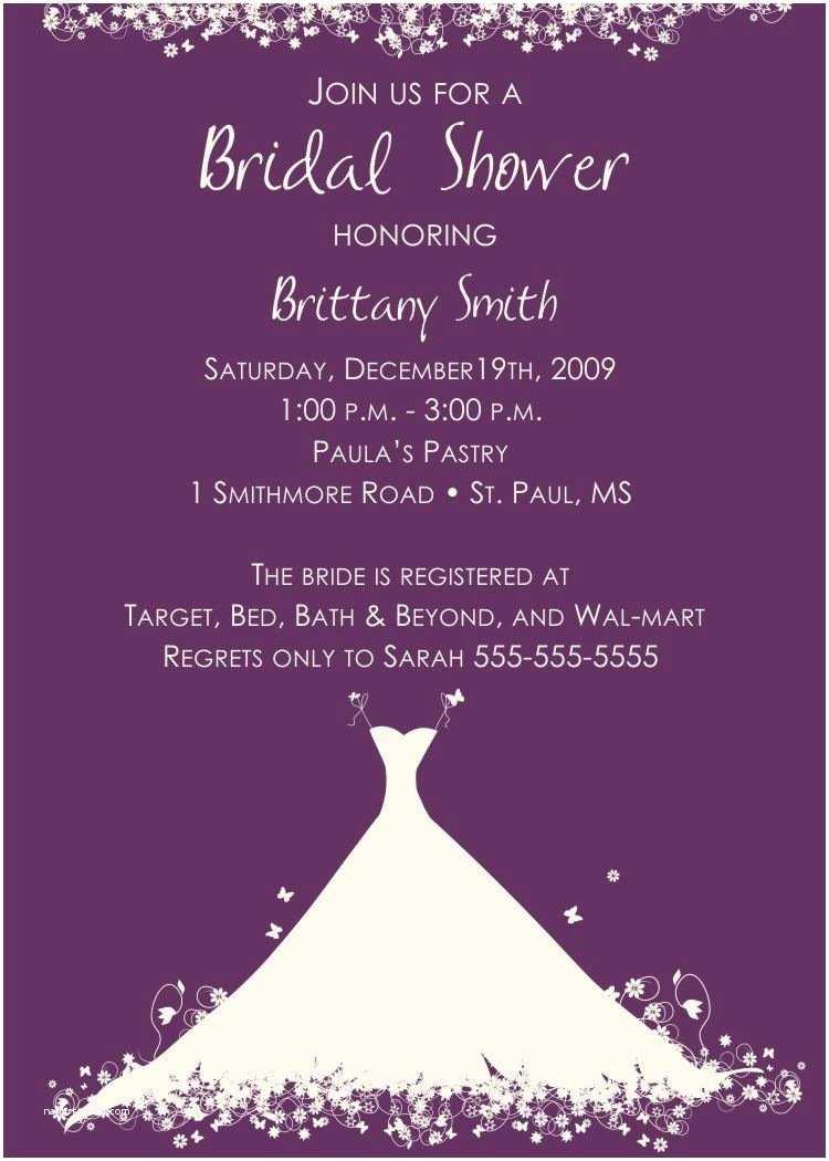Invitations for Bridal Shower Bridal Shower Invitation Verbiage Bridal Shower
