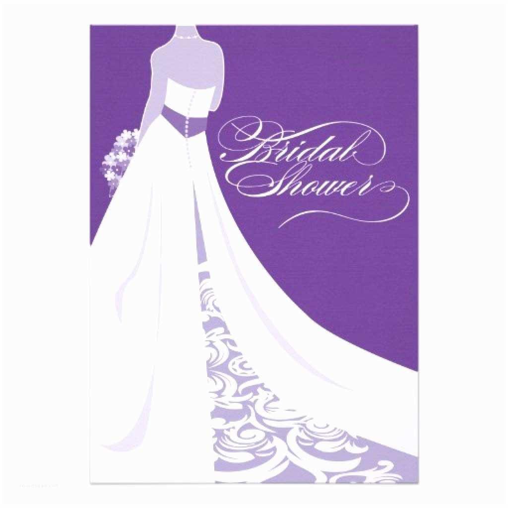 Invitations for Bridal Shower Bridal Shower Invitations Purple Bridal Shower