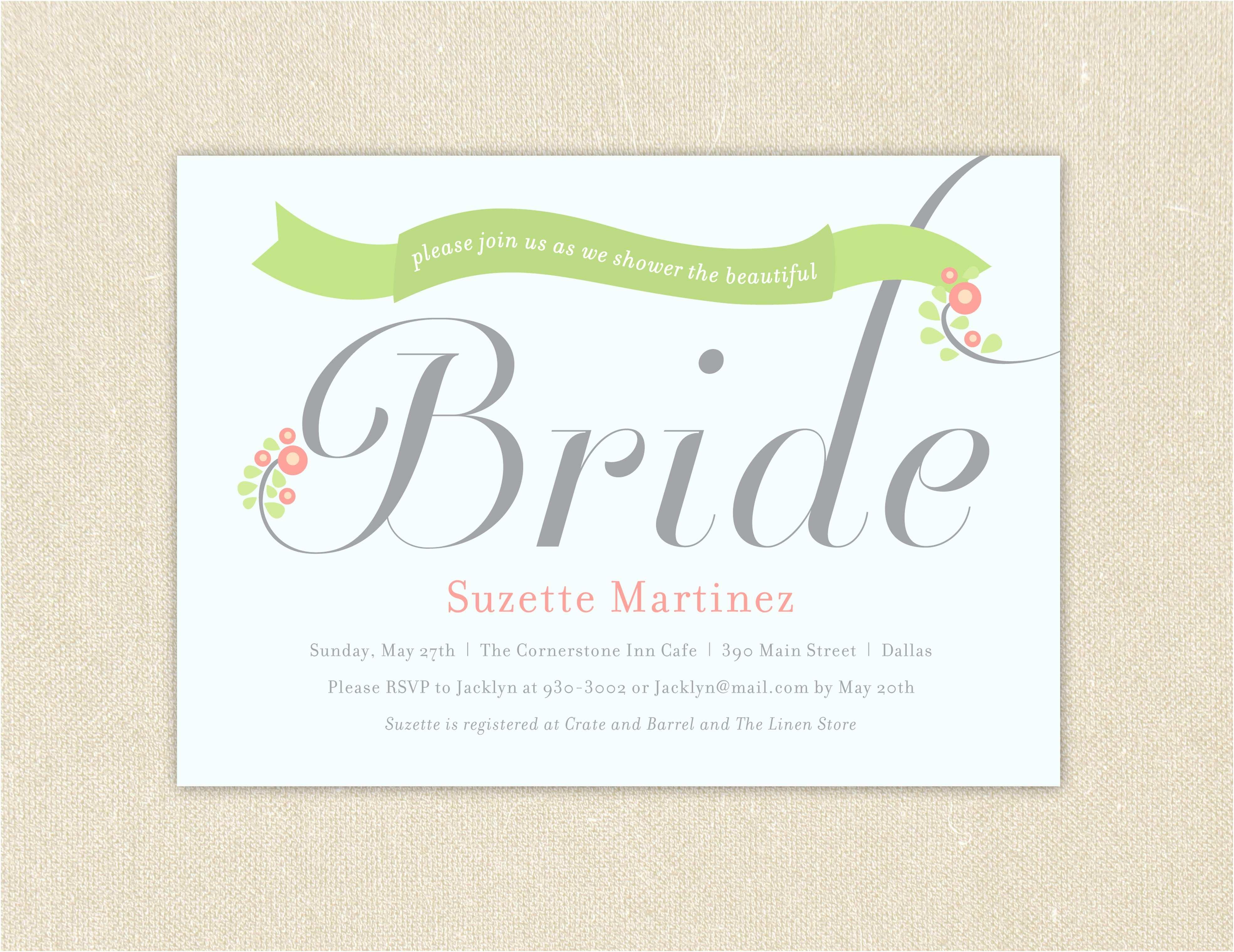 Invitations for Bridal Shower Free Printable Mason Jar Image