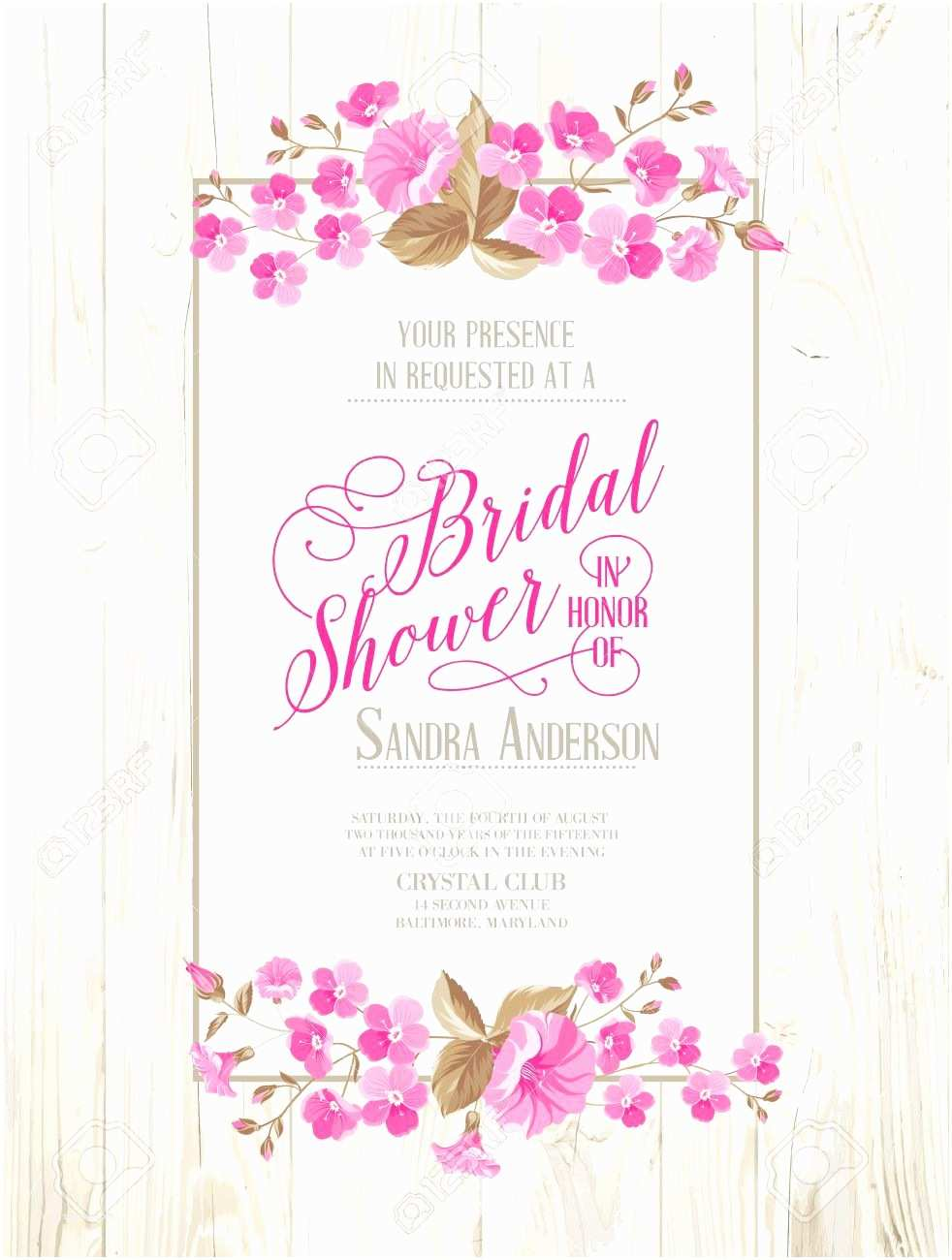 Invitations for Bridal Shower Invitations Templates Vintage Wedding Shower Invitations