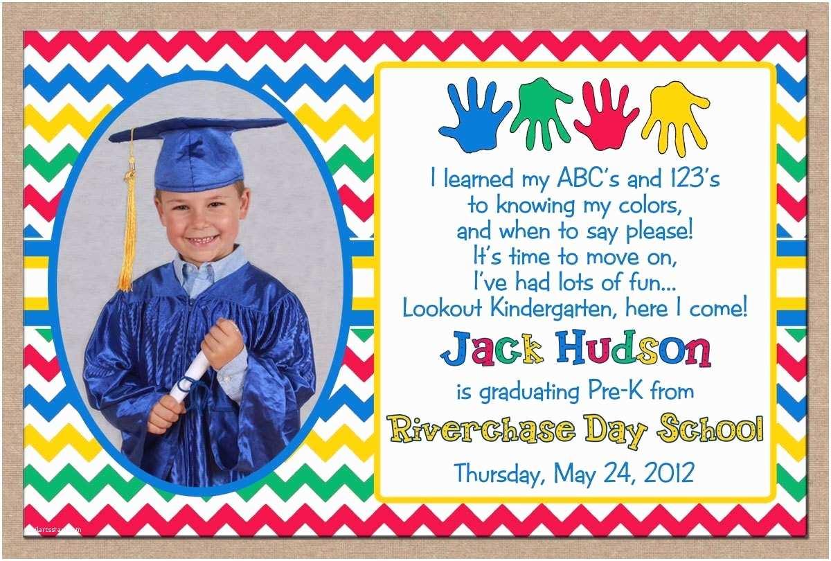 Invitations for Graduation Preschool Graduation Invitation Ideas