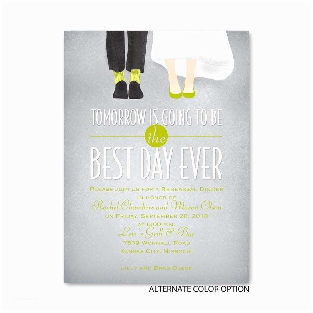 Invitations for Rehearsal Dinner Dancing Shoes Petite Rehearsal Dinner Invitation