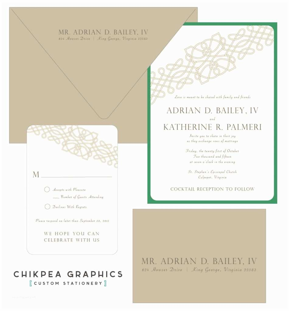 Irish Wedding Invitations Irish Celtic Wedding Invitation Ideas