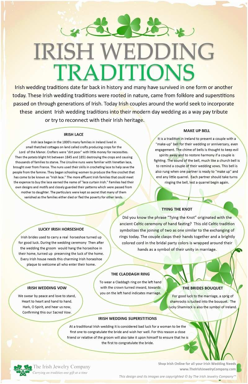 Irish Wedding Invitations Templates Irish Wedding Traditions
