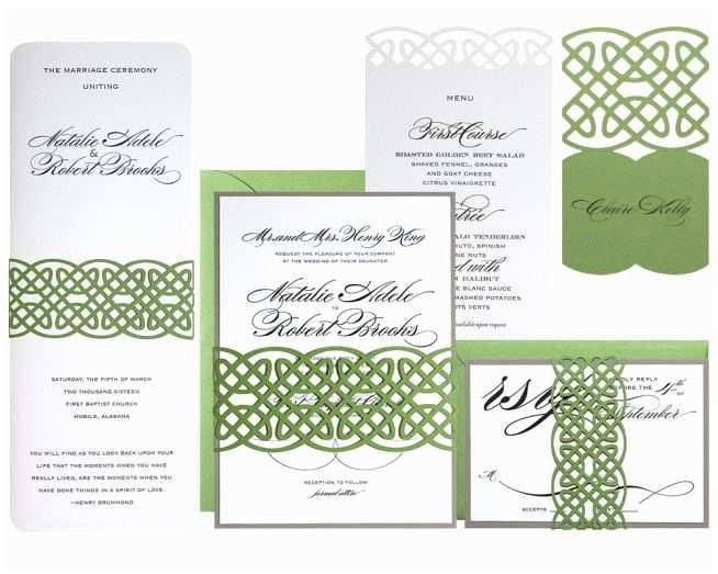 Irish Wedding Invitations Templates Wedding Invitation Templates Celtic Wedding Invitations