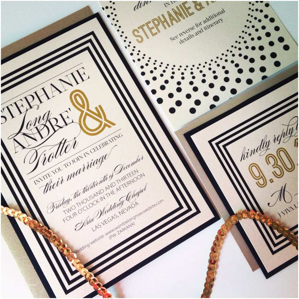 Ivory and Gold Wedding Invitations Gold and Ivory Wedding Invitations