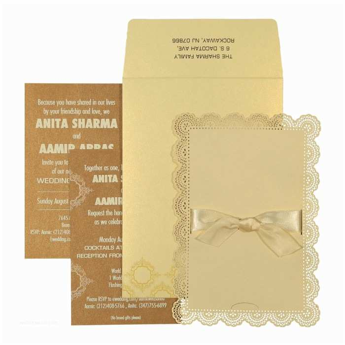 Ivory Laser Cut Wedding Invitations Ivory Shimmery Laser Cut Wedding Invitations Cc 1588