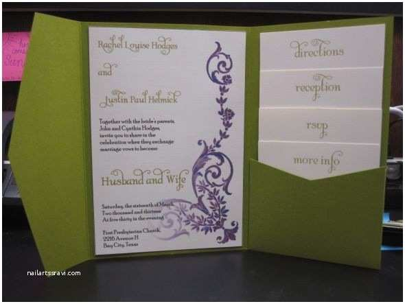 Ivory Pocketfold Wedding Invitations 136 Best Images About Invitations Guestbook On Pinterest