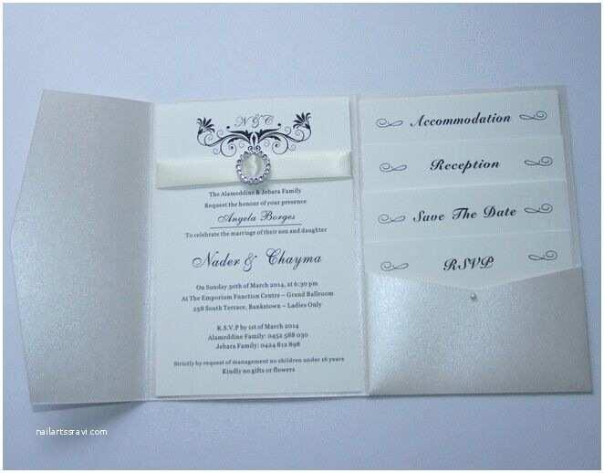 Ivory Pocketfold Wedding Invitations Pearl Ivory Pocketfold Wedding Invitations Diy Pocket