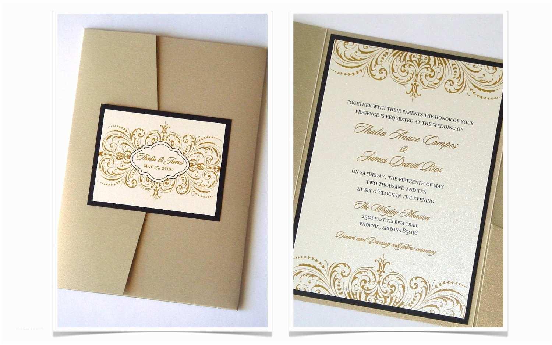 Ivory Pocketfold Wedding Invitations Vintage Wedding Invitation Elegant Wedding Invitation Lace