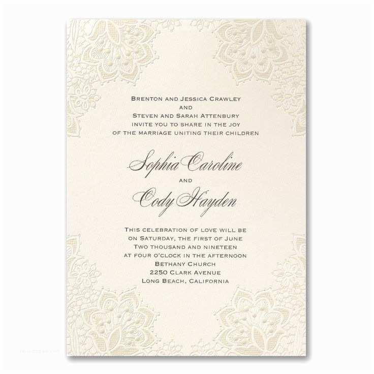 Ivory Wedding Invitations 30 Best Ivory Wedding Invitations Images On Pinterest