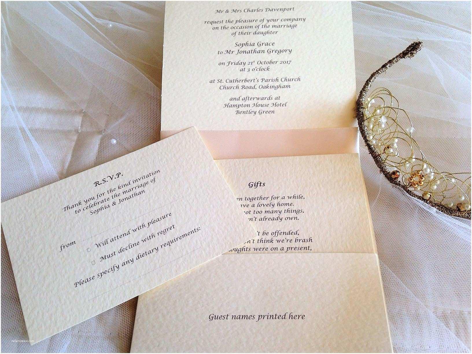 Ivory Wedding Invitations Ivory Wedding Invitations