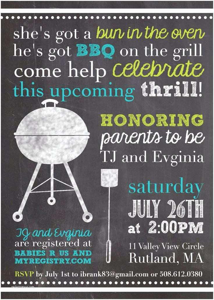 Jack And Jill Baby Shower Invitations Best 25 Baby Q Shower Ideas On