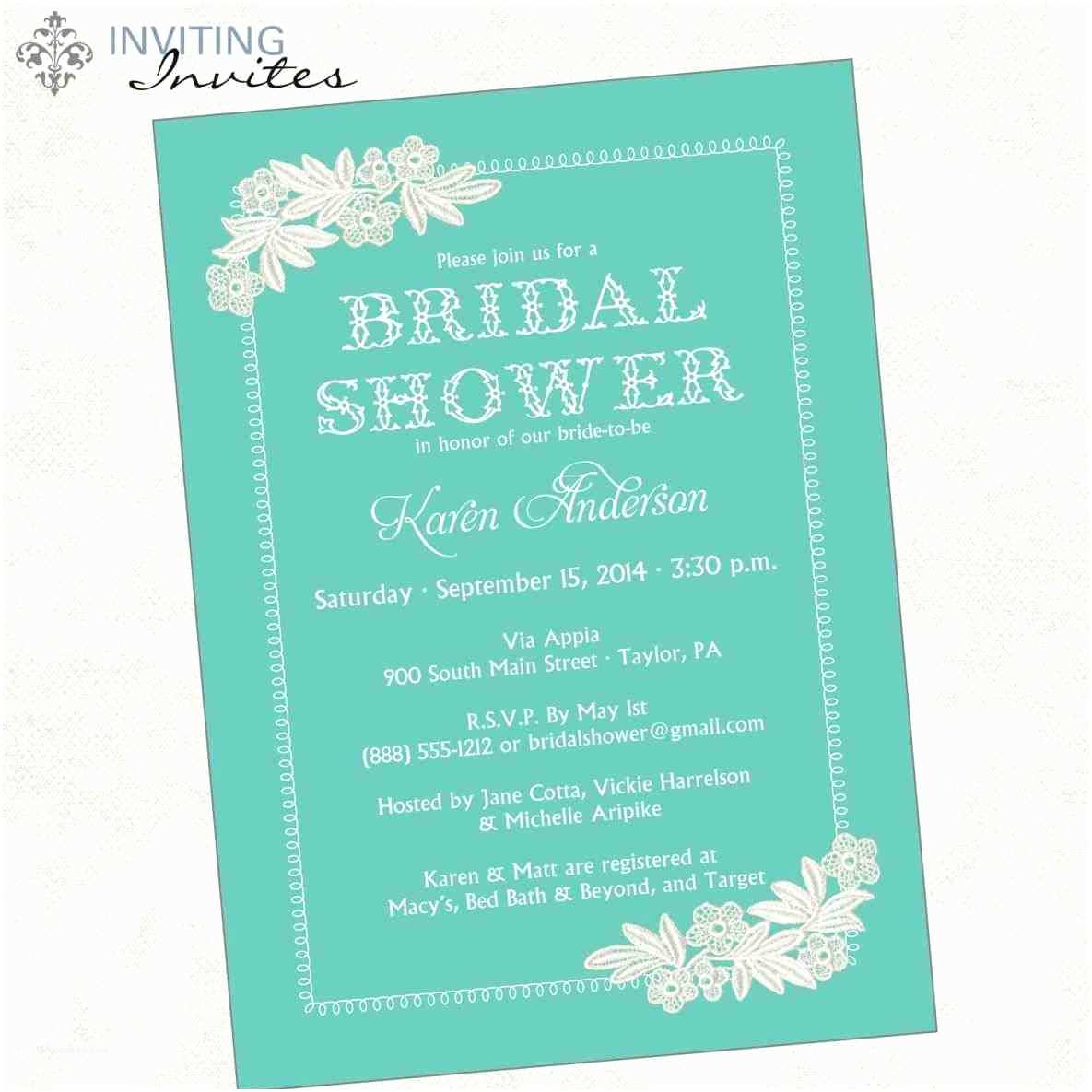 Jack And Jill Baby Shower Invitations Jack And Jill Wedding Shower Invitations