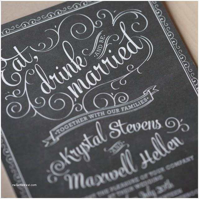 chalkboard wedding invitations vintage chic rustic chic hand drawn cafe poster invitation jack daniels invitation sample
