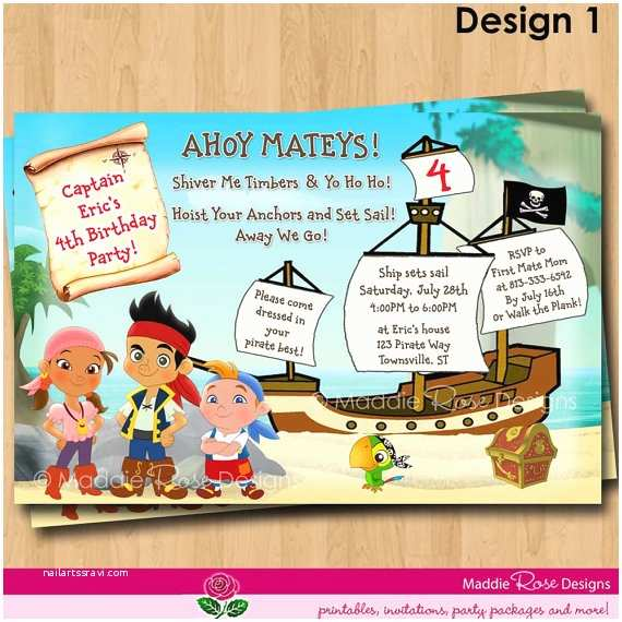 Jake and the Neverland Pirates Birthday Invitations 301 Moved Permanently