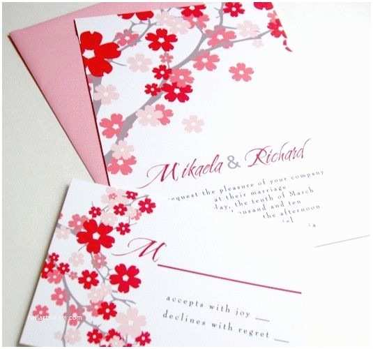 Japanese Cherry Blossom Wedding Invitations 1780 Best Cherry Blossoms Wedding Invitations Images On