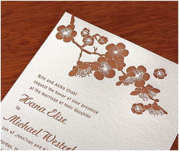 Japanese Cherry Blossom Wedding Invitations 36 Best Invitation Design Hana Images On Pinterest
