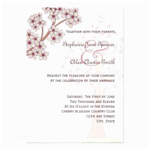 Japanese Cherry Blossom Wedding Invitations 4 000 Cherry Blossom Invitations Cherry Blossom