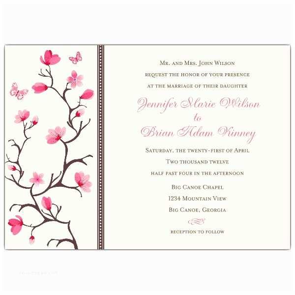 Japanese Cherry Blossom Wedding Invitations Elegant Wedding Invitations 八月 2013