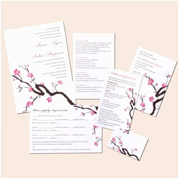 Japanese Cherry Blossom Wedding Invitations New Floral Wedding Invitation is Perfect for A Spring