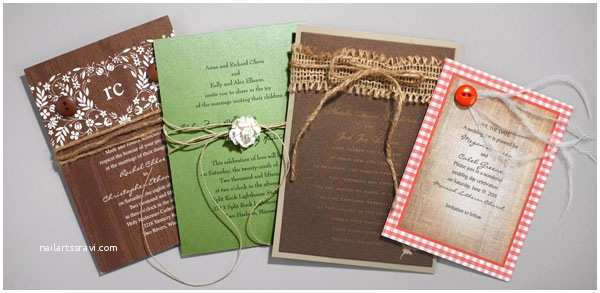 Jean M Wedding Invitations Create A Rustic Diy Wedding Invitation Look with Jean M