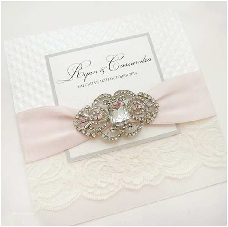 Jeweled Wedding Invitations 10 Breathtaking Rhinestone Wedding Invitations which