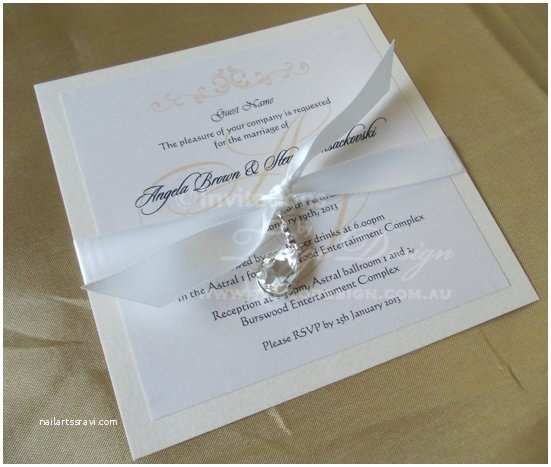 Jeweled Wedding Invitations Crystal Wedding Invitation Bling Invitations Elegant Wedding