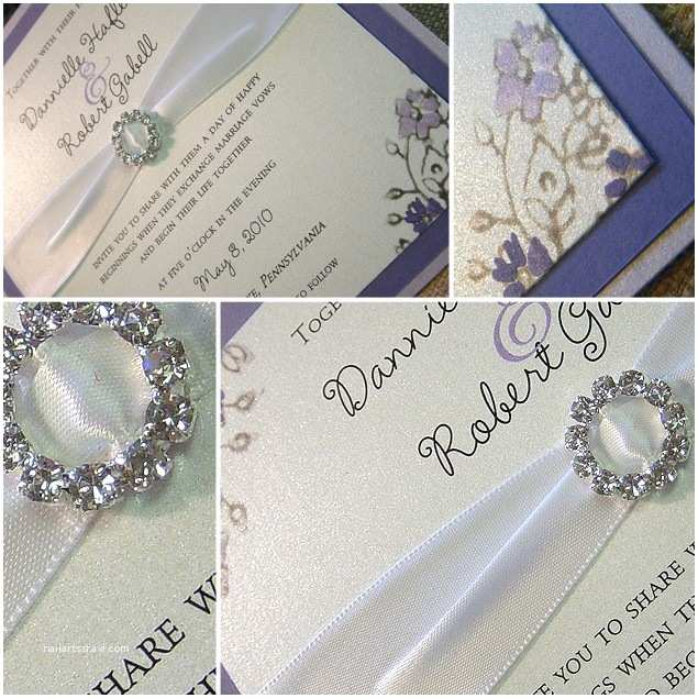 Jeweled Wedding Invitations Gallery for Rhinestone Wedding Invitations