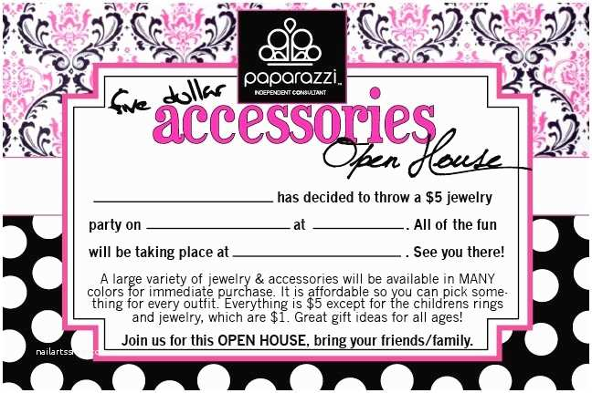 Jewelry Party Invitation 7 Best Images About Paparazzi Accessories Invites On