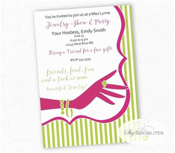 Jewelry Party Invitation Jewelry Party Invitation – Gangcraft