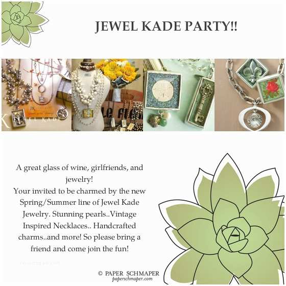 Jewelry Party Invitation Jewelry Party Invitation Template – orderecigsjuicefo