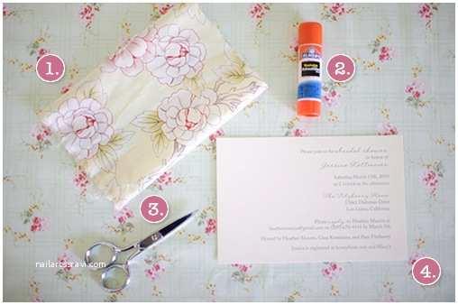 Joann Fabrics Wedding Invitations Fabric Do It Yourself Bridal Shower Invitations