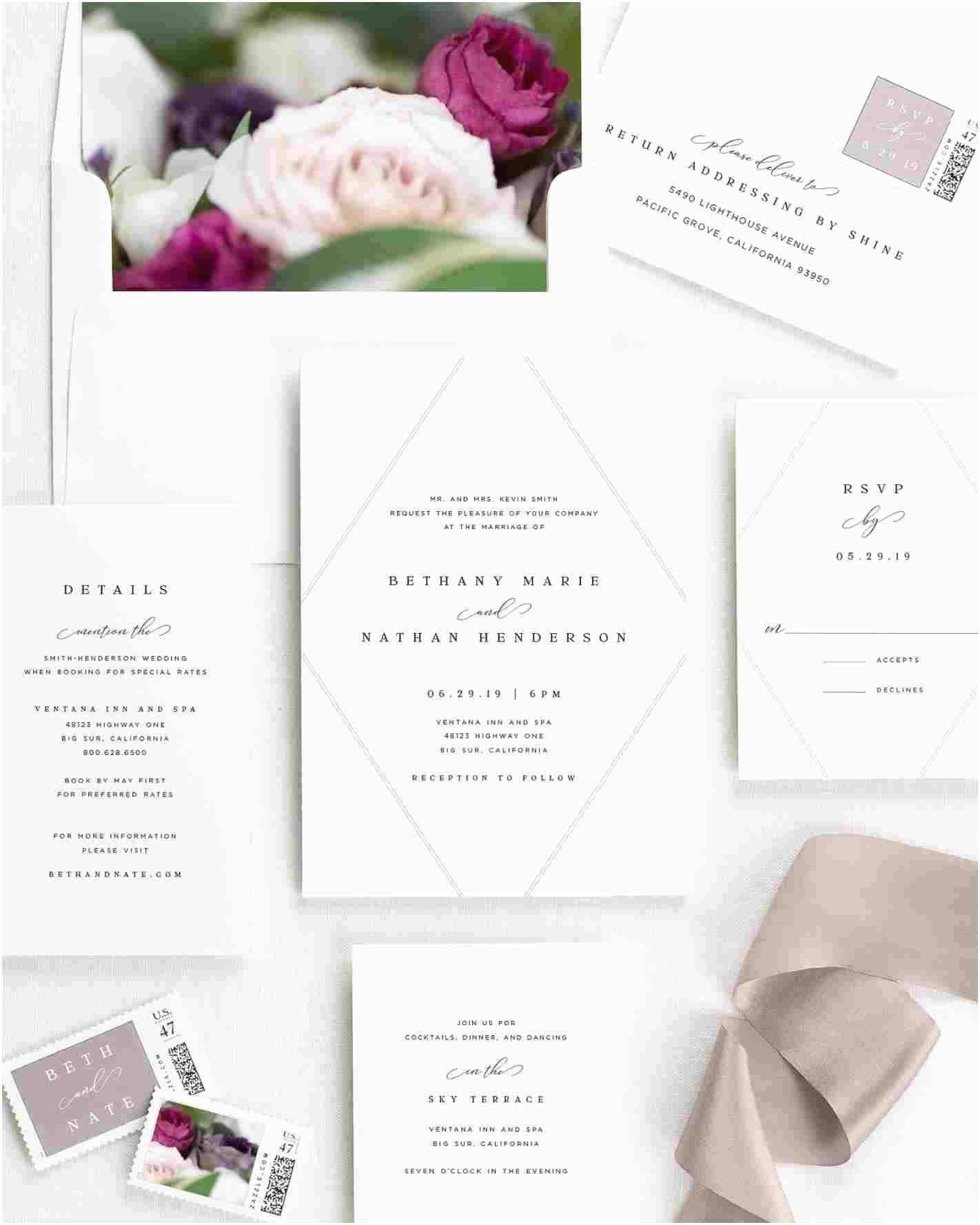 Joann Fabrics Wedding Invitations Modern Marvel Wedding Invitations that Will Make You Happy