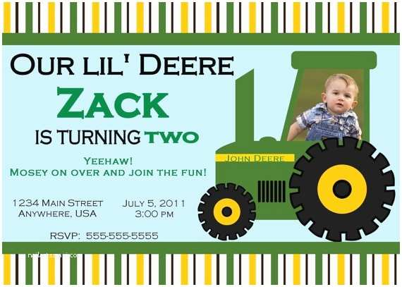 John Deere Birthday Invitations 78 Best Images About John Deere Tractor Printables On