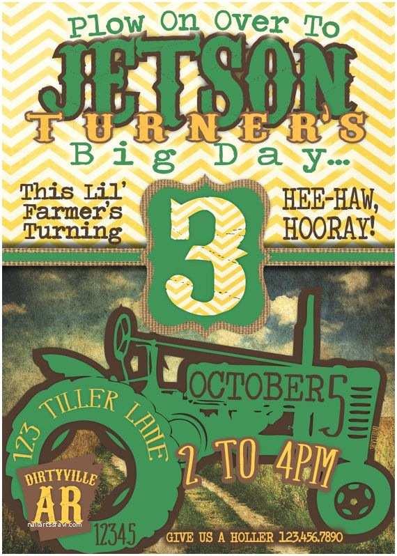John Deere Birthday Invitations Pinterest Discover And Save Creative Ideas