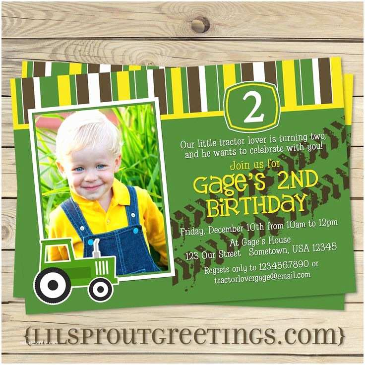 John Deere Birthday Invitations Pinterest Discover and Save Creative Ideas