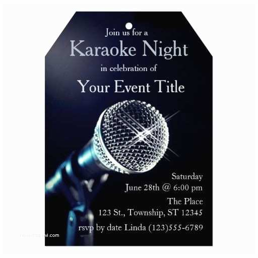 Karaoke Party Invitations 10 Best Save The Date Ideas Images On