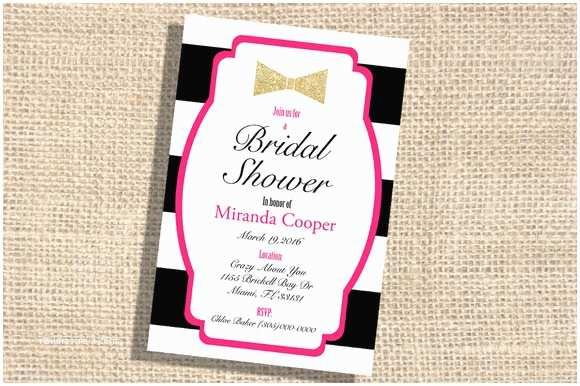 gold bridal shower invitation templates