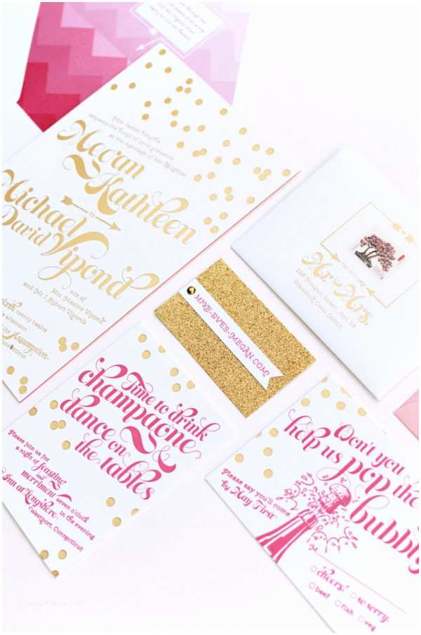 Kate Spade Wedding Invitations Kate Spade Inspired Wedding Invitation From Coral Pheasant