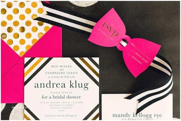 Kate Spade Wedding Invitations Waiting On Martha