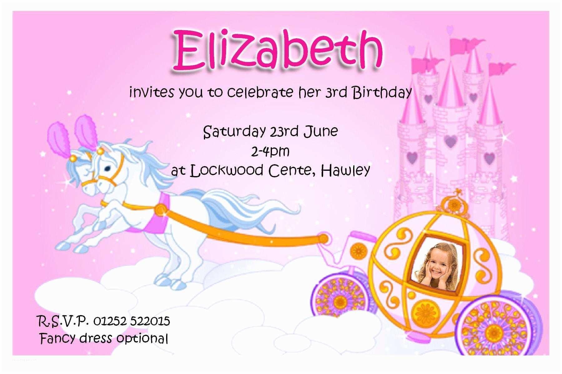 Kids Birthday Party Invitation Wording 20 Birthday Invitations Cards – Sample Wording Printable
