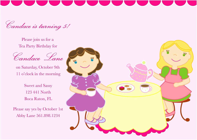Kids Birthday Party Invitation Wording Kids Birthday Party Invitation Wording