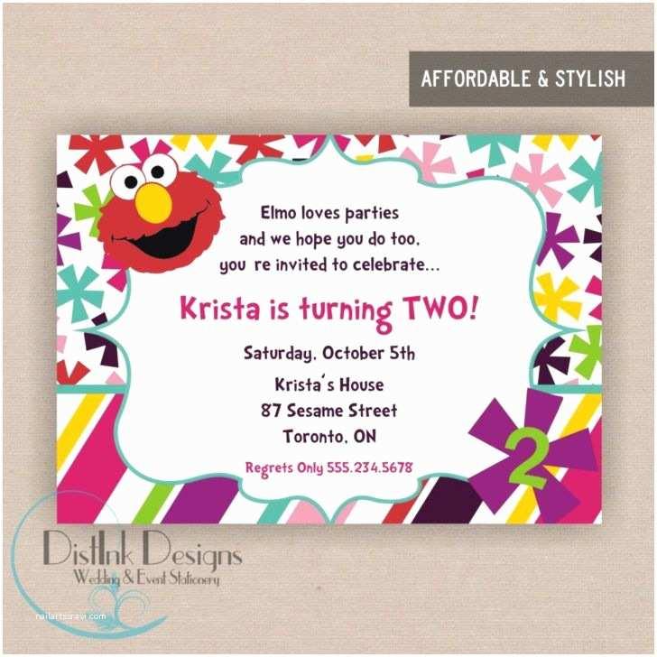 Kids Birthday Party Invitation Wording Stylish 2nd Birthday Party Invitation Wording Elmo World
