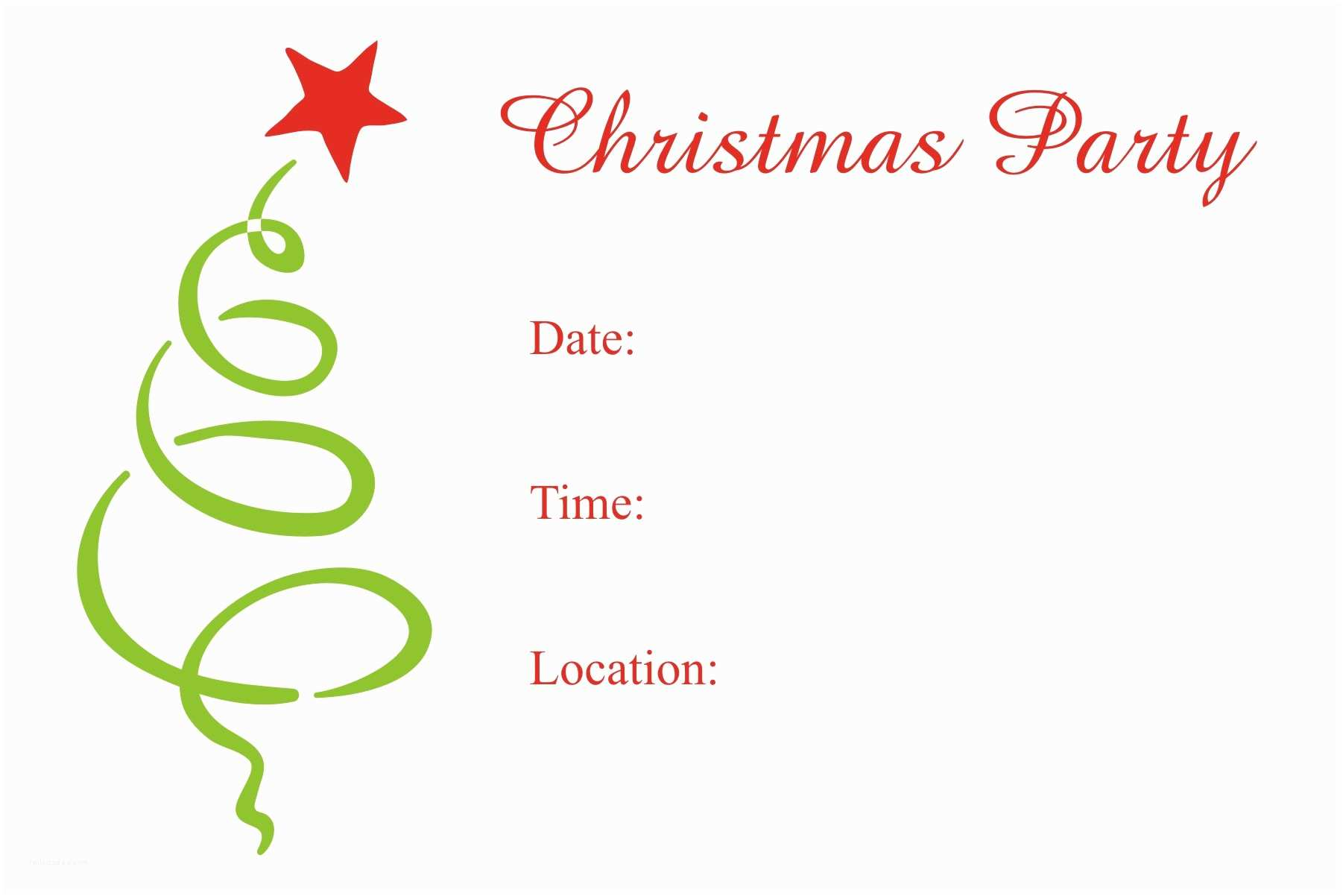Kids Christmas Party Invitations Free Printable Christmas Party Invitations Templates