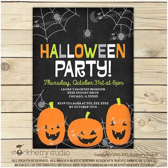 Kids Halloween Party Invitations 1000 Ideas About Halloween Invitations Kids On Pinterest
