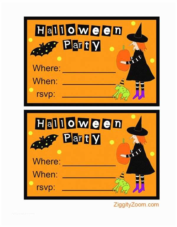 Kids Halloween Party Invitations 17 Best Images About Halloween Crafts Costumes And