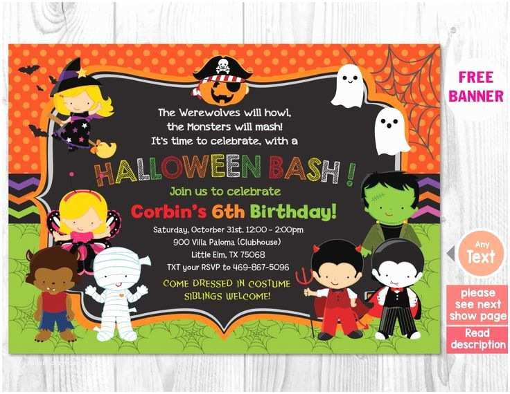 Kids Halloween Party Invitations 278 Best Invitations For Eye Candy Events Images