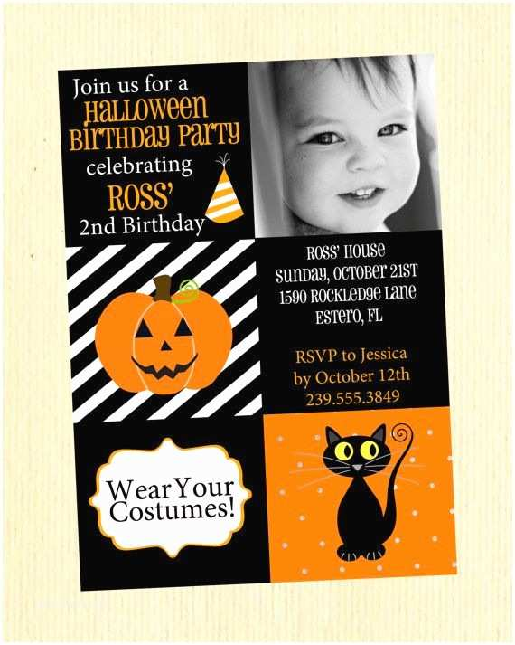 Kids Halloween Party Invitations Best 25 Halloween Birthday Party Invitations Ideas